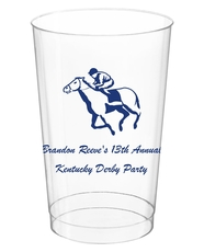 Horserace Derby Clear Plastic Cups