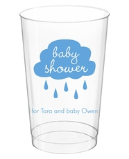 Baby Shower Cloud Clear Plastic Cups