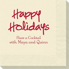 Studio Happy Holidays Napkins