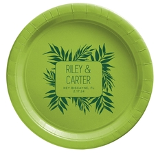 Palm Leaves Paper Plates