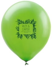 Palm Leaves Latex Balloons