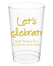 Studio Let's Celebrate Clear Plastic Cups
