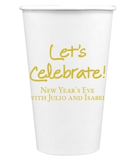 Studio Let's Celebrate Paper Coffee Cups