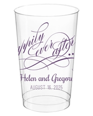 Happily Ever After Clear Plastic Cups