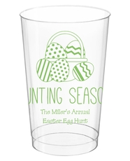 Hunting Season Easter Clear Plastic Cups