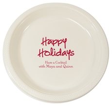 Studio Happy Holidays Plastic Plates