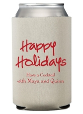 Studio Happy Holidays Collapsible Koozies