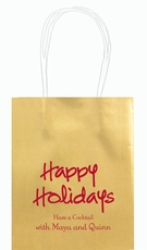 Studio Happy Holidays Mini Twisted Handled Bags