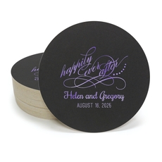 Happily Ever After Round Coasters