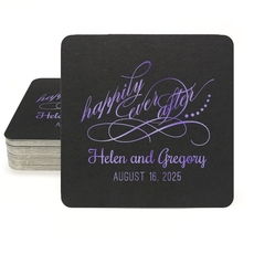 Happily Ever After Square Coasters