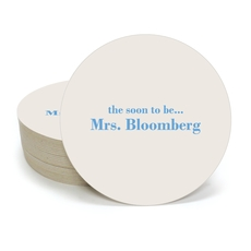 Soon to be Mrs Round Coasters