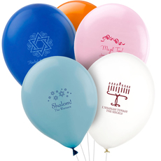 Design Your Own Jewish Celebration Latex Balloons