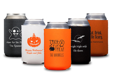 Design Your Own Halloween Collapsible Koozies