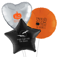 Design Your Own Halloween Mylar Balloons