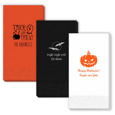 Design Your Own Halloween Guest Towels