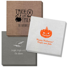 Design Your Own Halloween Bamboo Luxe Napkins