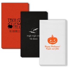 Design Your Own Halloween Linen Like Guest Towels