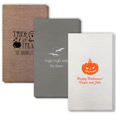 Design Your Own Halloween Bamboo Luxe Guest Towels