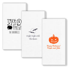 Design Your Own Halloween Deville Guest Towels