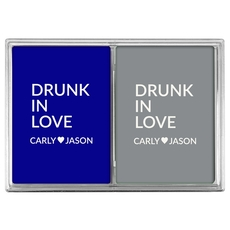 Drunk In Love Double Deck Playing Cards