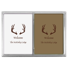 Antlers Double Deck Playing Cards